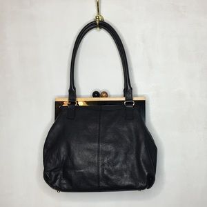 Kate Spade bixby Goatskin Leather Frame Bag